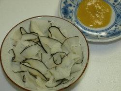 皮おばいけ皿盛り100g(関太郎印のくじら)